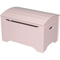 Treasure Chest Toy Box in Soft Pink