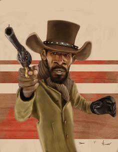 Django Unchained by DevonneAmos.deviantart.com on @deviantART