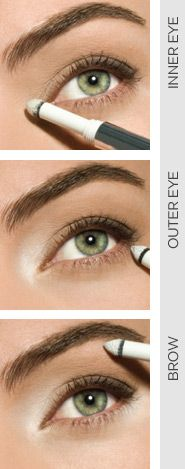 How to make your eyes pop....Cargo Eyelighter