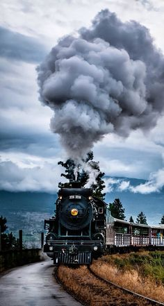 I really want to ride on a train one day.