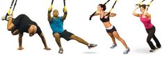 This simple exercise tool is rapidly appearing in every health club in the world. What is it that will quickly surpass the beloved balance ball-the TRX Suspension workout system. See the TRX posters. Suspension Training, Trx Suspension Trainer, Mma, Fitness Tips, Fitness Motivation, Trx Training, Workout Posters, Different Exercises, No Equipment Workout