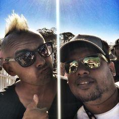 Repost of Carl and I @kfmza #HuaweiKDay #snapseed