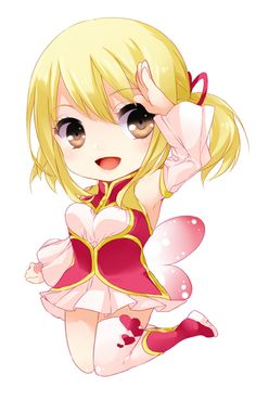 Lucy Heartfilia chibi by : http://www.pixiv.net/member.php?id=553601