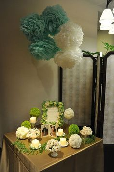 和婚にも合う♪海外で大人気!ウェディングシーンでのペーパーポンポンの素敵な飾り方。 - NAVER まとめ