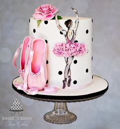 Probably my favorite Ballet cake so far. I just love the design. I got the image from the client so cant take credit.