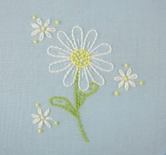 big B: Daisy Embroidery Pattern Packet
