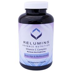 Relumins Advance Vitamin C - MAX Skin Whitening Complex With Rose Hips and Bioflavonoids - THREE MONTH SUPPLY! *** For more information, visit image link.