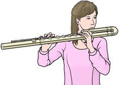 管楽器:バス フルートの演奏
