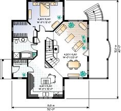 First Floor of Plan ID: 6807