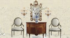 Seven on Sunday - The Enchanted Home Chatsworth House, Enchanted Home, French Country House, Timeless Beauty, Chinoiserie, Foyer, Sunday, Design Ideas, Houses