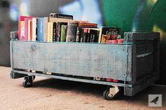 Cajoncito con ruedas para libros, juguetes y todo lo que se te ocurra