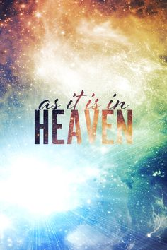 As it is in Heaven ❅B e l l a M o n t r e a l❅