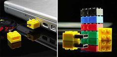 ZipZip USB Memory Brick — Gadgets -- Better Living Through Design