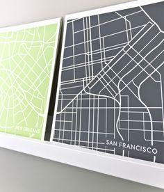 san francisco california city map