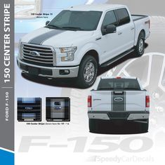 YOUR TEXT Truck Faded Bed stripes Stripe Graphics Dodge Ram GMC CHEVY F150 F250