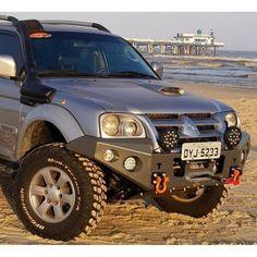 Mitsubishi Pickup, Mitsubishi Pajero Sport, L200 4x4, Pajero Off Road, Nissan 4x4, Toyota Hilux, Modified Cars, Custom Trucks, Land Rover Defender