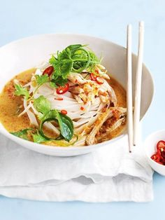 How To Chicken Laksa | Donna Hay