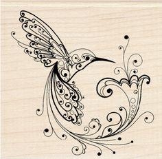 Hummingbird Stamp at Michaels.