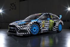 Ken Block Ford Fous RX