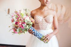 Rose Quartz by Yolande Snyders & Yellow Papaya Dusty Blue, Pantone Color, Elegant, Bloom, Quartz, Wedding Photography, Bride, Bridal Bouquets, Yellow