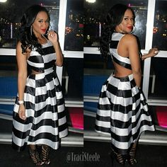 Dont you just love our Black and White Carmela Flare Dress? Shop SteelePretty.com for this amazing look! Don't forget to #tag2friends