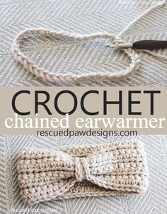 Chained Ear Warmer Crochet Pattern -Beginner Crochet Patterns And Projects