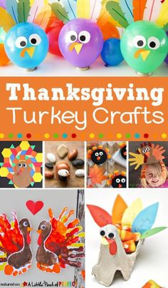 17 Top Thanksgiving Turkey Crafts for Kids Turkey Crafts are adorable no matter what materials are used and these 17 Top Turkey Craft ideas will inspire you to get craft. Thanksgiving Activities For Kids, Happy Thanksgiving Day, Thanksgiving Turkey, Holiday Activities, Diy Crafts For Kids, Fall Crafts, Craft Ideas, Toddler Crafts, Decor Ideas