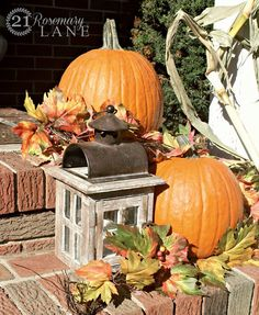 21 Rosemary Lane: Autumn Porch ~ Bountiful Beginnings