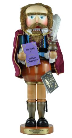 Shakespeare Nutcracker?? Love it!