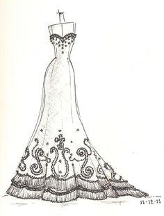 www.etsy.com/shop/dresssketch wedding dress sketch