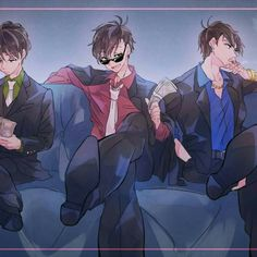 Shared by ARMY. Find images and videos about osomatsu-san, karamatsu and osomatsu on We Heart It - the app to get lost in what you love. Mafia, Dark Anime Guys, Hot Anime Boy, Kawaii Anime, Yakuza Anime, Anime Gangster, Manga Anime, Anime Art, Otaku