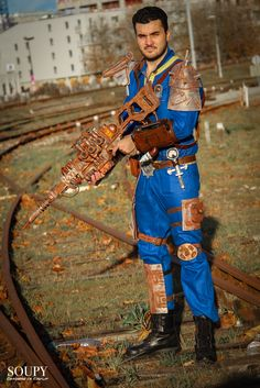 Fallout Cosplay, Fallout Vault, Video Game, Cartoons, Suit, Universe, Hunters, Photography, Role Play