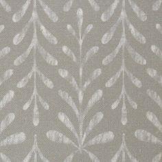 Kaftor Leaf Concrete. Available printed on linen, cotton, cotton linen blends. © Ellen Eden