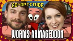Worms Armageddon - Retro Let's Play: Co-Optitude Ep 25 ... Amazing, game and so is Felicia Day!