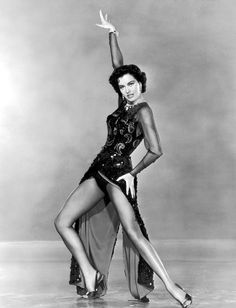 1953. Cyd Charisse in a scene from director Vincente Minnelli's film 'The Band Wagon'. S)