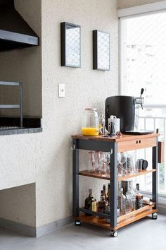 Understanding Mini Bar Design Ideas Some balconies are made to compliment the present home design and decor. When it has to do with designing an outdo. Kitchen Decor, Mini Bar, Decor, Bars For Home, Home, Home Diy, Kitchen Bar Design, Bar Design, Home Decor