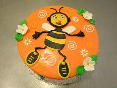 Happy Bee Cake   Flickr - Photo Sharing!