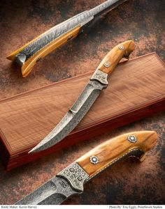 2015 ABS International Master Smith Auction Knife by Kevin Harvey M.S.  The 2015 ABS Knife Auction is on June 6, 2015 at the Blade Show in Atlanta, GA.