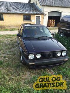 13.000 kr VW Golf 2 ¨Fire and Ice, billede 1