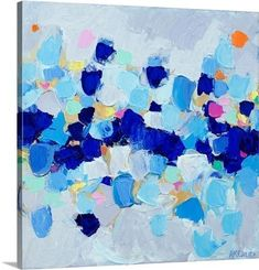 Contemporary abstract artwork - Amoebic Party II Wall Art by Ann Marie Coolick from Great BIG Canvas.