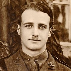First World War pilot William Leefe Robinson. On 2 Sep, 1916, Leefe Robinson was the first to destroy a Zeppelin over London, for which he was awarded the Victoria Cross. In April 1917, he was shot down in France and captured by the Germans and suffered rather brutal treatment. After returning to Britain after the Armistice, he contracted influenza and died on 31 Dec, 1918, only 23 years old.