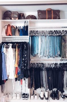 72 bedroom ideas for small rooms for couples closet organization 34 - coodecors organization couple 72 bedroom ideas for small rooms for couples closet organization 34 - coodecors Bedroom Closet Design, Small Room Bedroom, Room Ideas Bedroom, Closet Designs, Bedroom Decor, Small Rooms, Closet Organisation, Room Organization, Clothing Organization