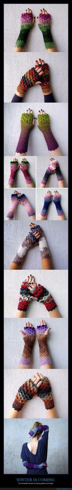 WINTER IS COMING - Y tú necesitas hacerte con estos guantes de Dragón   Gracias a http://www.cuantarazon.com/   Si quieres leer la noticia completa visita: http://www.estoy-aburrido.com/winter-is-coming-y-tu-necesitas-hacerte-con-estos-guantes-de-dragon/