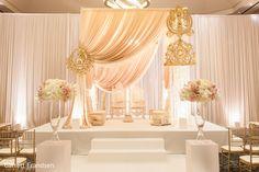 Ceremony Decor in Atlanta, GA Indian Wedding by Garrett Frandsen | Maharani Weddings