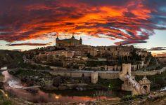 Toledo, Spain at its prettiest! #spain
