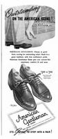 American Gentleman Shoes 1945 Ad Picture