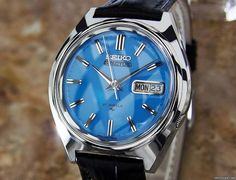 Seiko 5 tilbud: 7.611 kr Seiko 5 Actus Mens Rare Automatic 21 Jewels Stainless Japanese..., Stål; Automatisk; Stand 1 (perfekt stand); År 1970s; Sted: USA, CA, LOS ANGELES