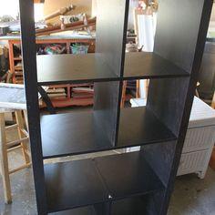 DIY: Turn an old Bookshelf into a Rolling Kitchen Island!