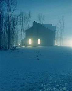 """""""Homes at Night"""" by Todd Hido is an eery photo series depicting nightlife in an unexpected way. By shifting night photography's focus to a subur..."""