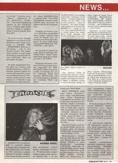 Earache - News from a Polish Zine in 1991!